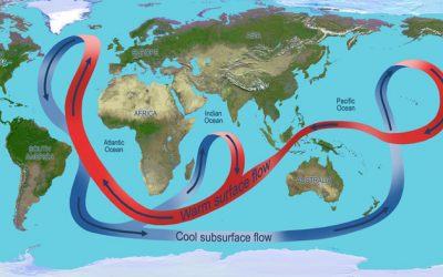 Modeling the Formation of Ocean Currents