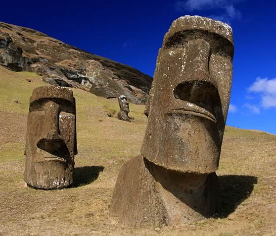 Choosing Phenomena: Photo of Easter Island Moai